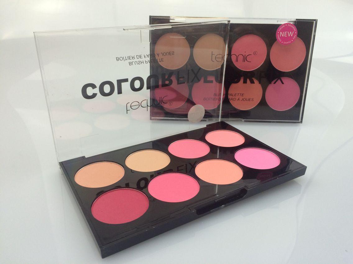 Technic 8 Colour ColourFix Blush Palette