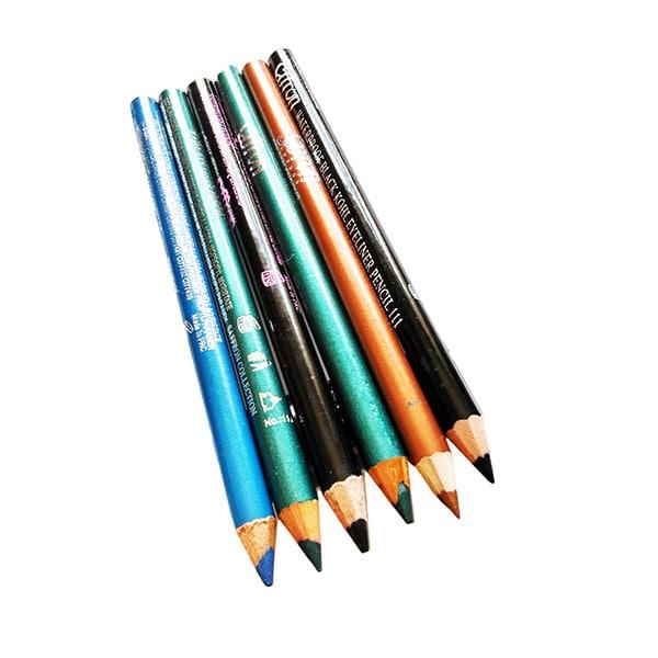 Saffron Soft Kohl Eyeliner Pencils
