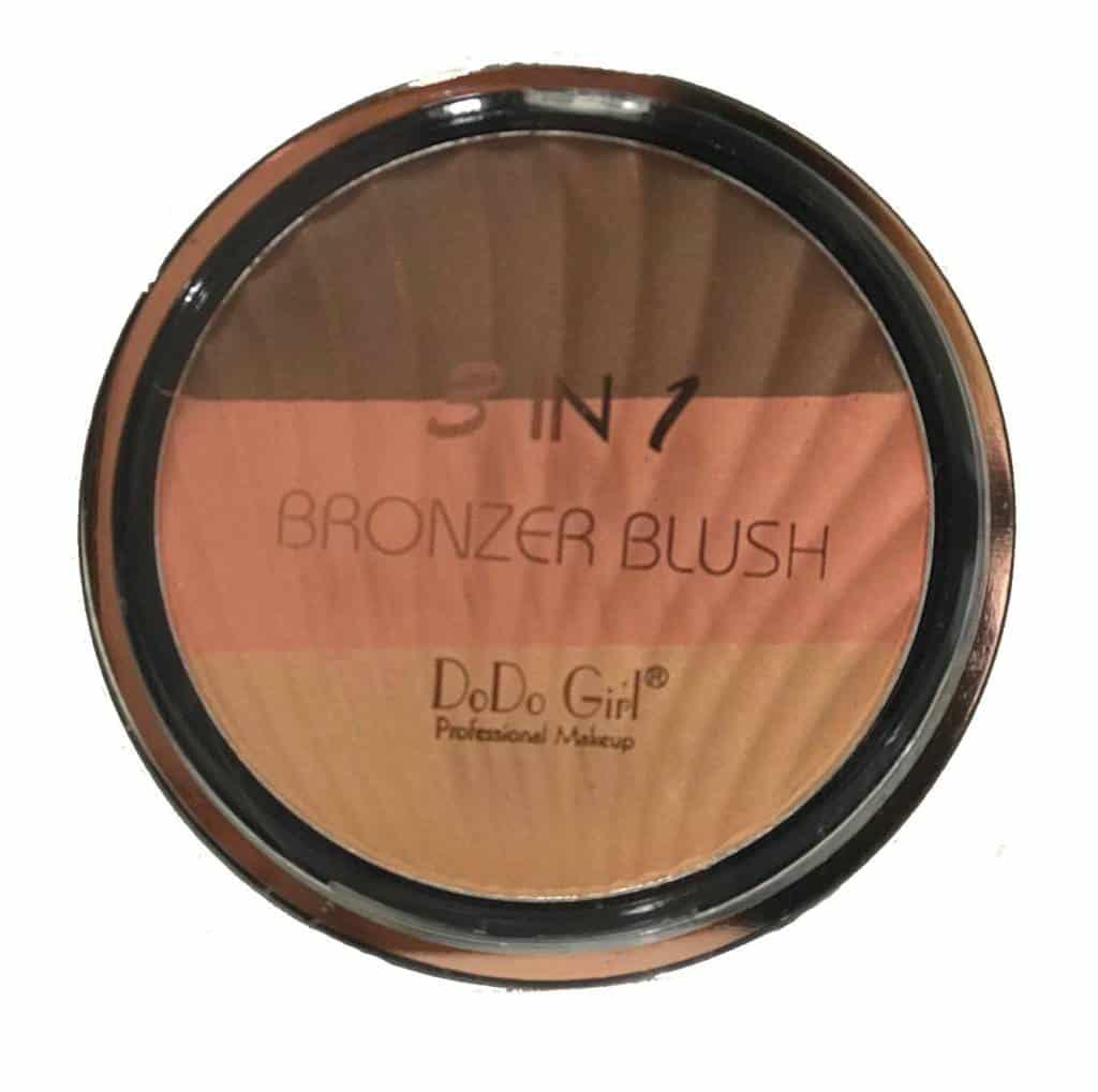 DoDo Girl 3 in 1 Bronzer Blush 2