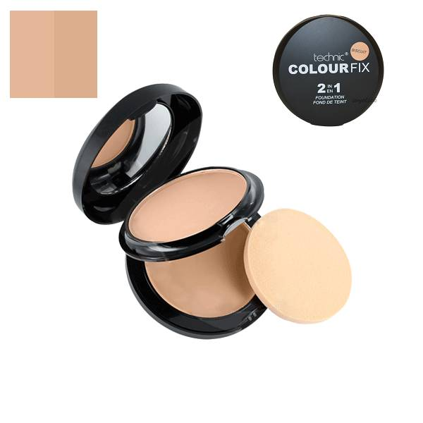 Technic-Colour-Fix-2-in-1-Foundation-Biscuit