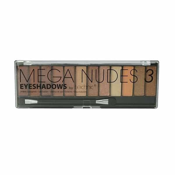 Technic Mega Nudes 3 Eyeshadow Palette
