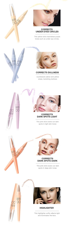 CC Colour Corrector Concealer Stick