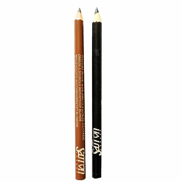 saffron waterproof eye brow pencil